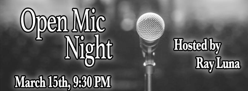 Open Mic Night Facebook Banner 3 15